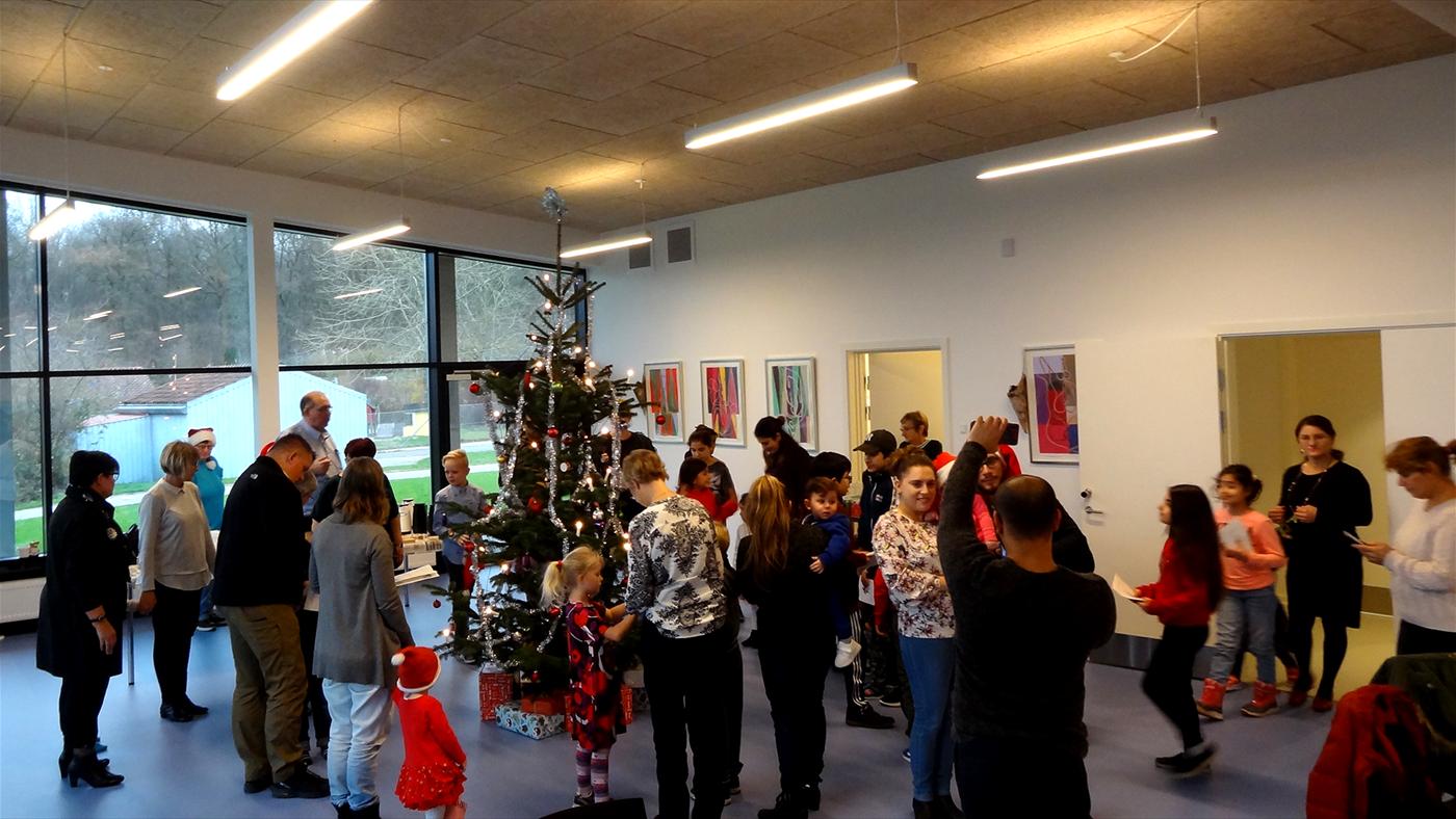 Juletræsfest i Fælleshuset