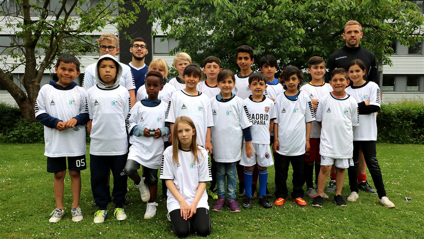 Fodbold dag i Jægermarken