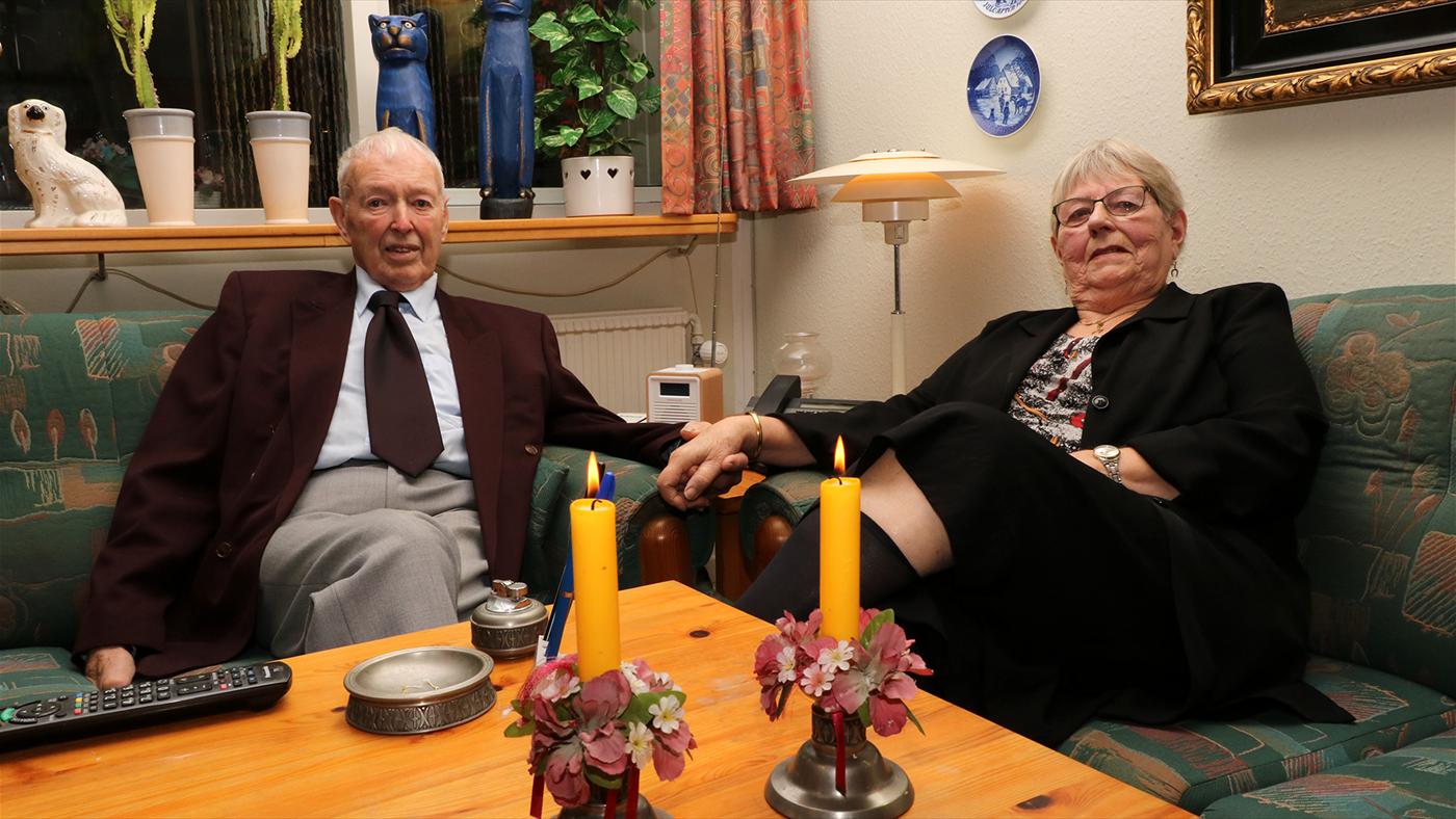 Mærkedag - Erling & Erna - Krondiamant Bryllup
