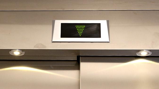 Elevator til 121 boliger