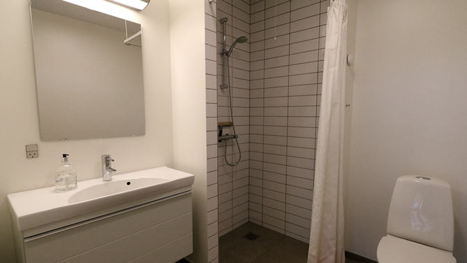 Gæstehotel - Bad og toilet