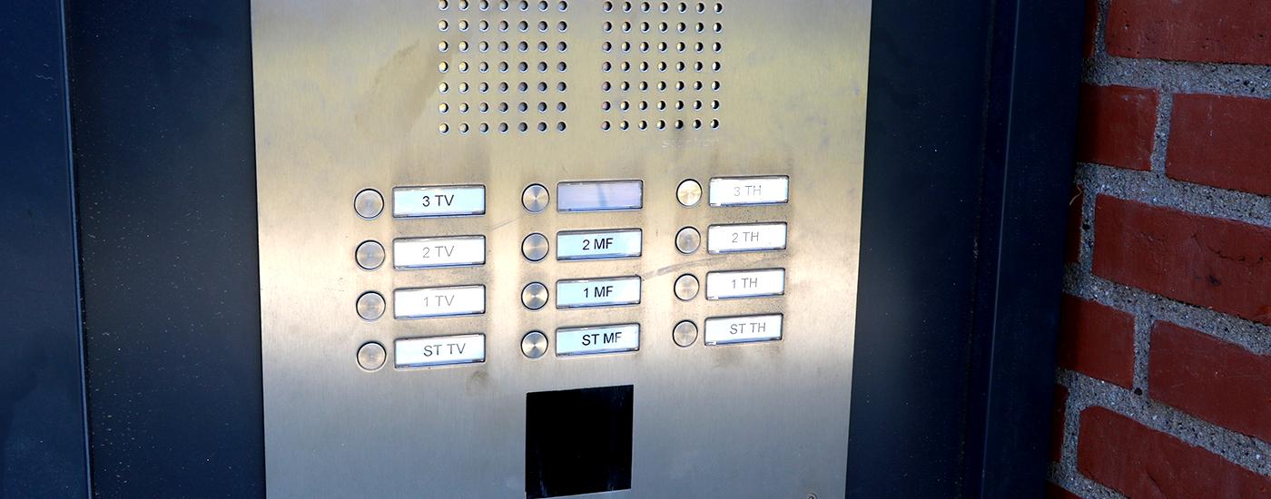 Moderne adgangskontrol med brik