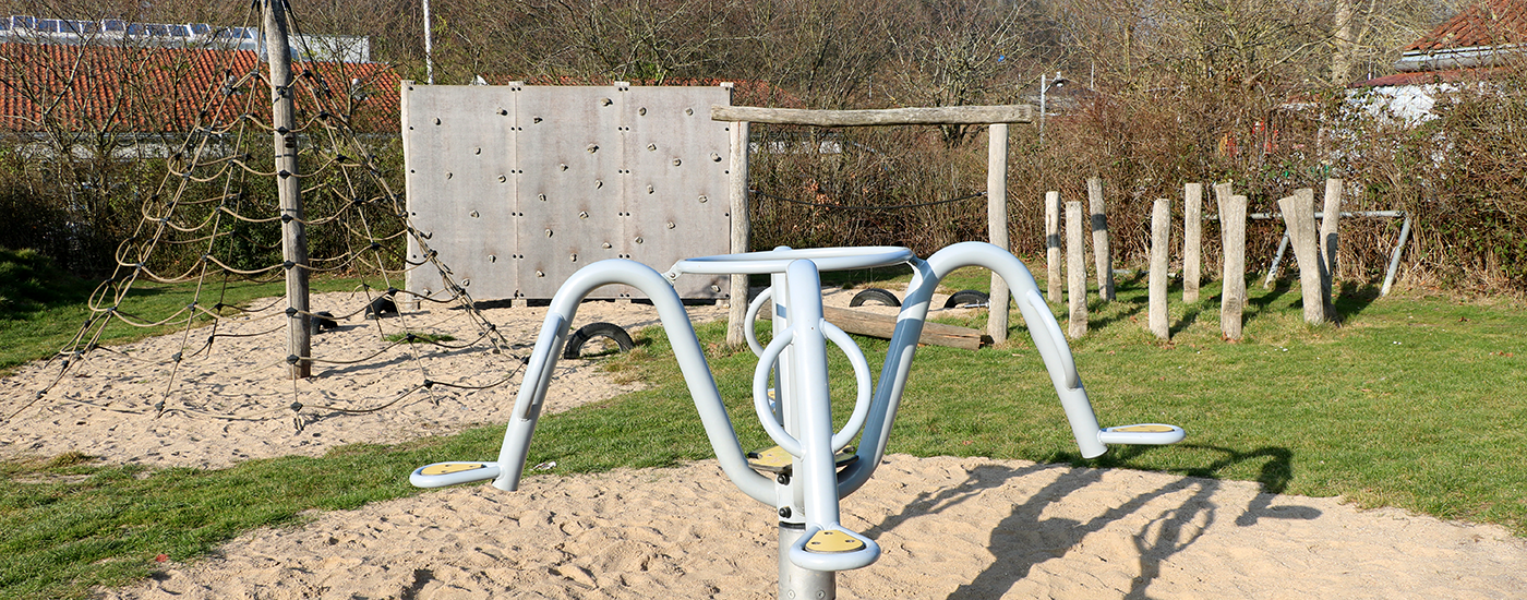 børnevenlig legeplads